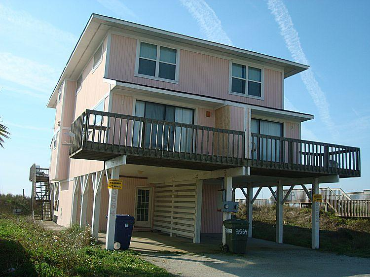 Exterior - Beach Blessing South - Excellent View, Simple & Cozy, Oceanfront Access - North Topsail Beach - rentals