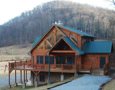 River Time  - My River Time-Upscale Riverfront Cabin near Boone - Todd - rentals