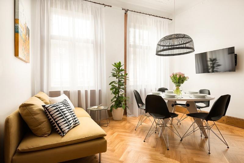 Two-Bedroom Rudolfinum Apartment - Image 1 - Prague - rentals