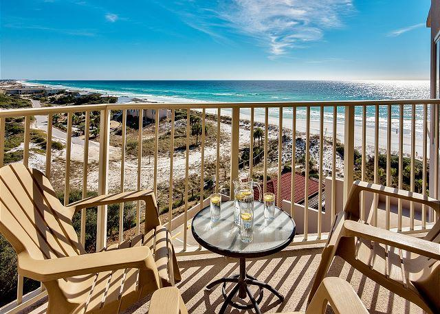 TAKE $100 OFF 6/18-25!  7TH FLOOR BEACHFRONT BEAUTY FOR 6! GREAT VIEWS! - Image 1 - Miramar Beach - rentals