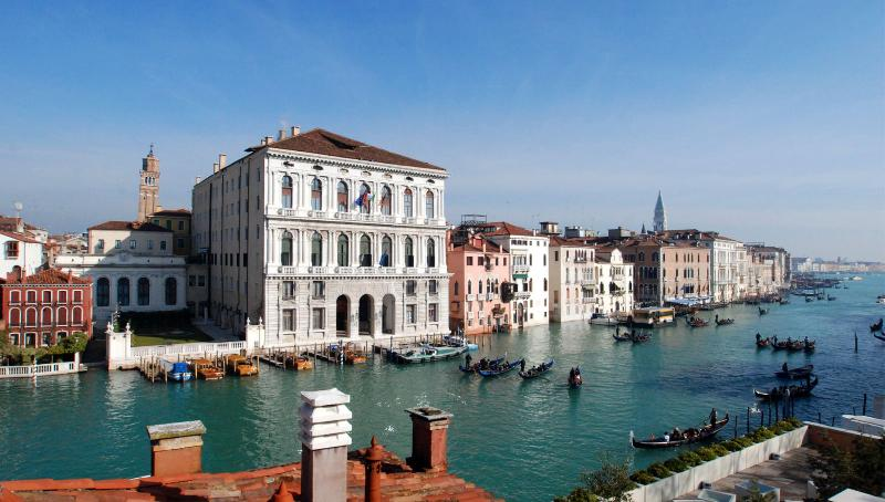 the view from the Guggenheim terrace on the Grand Canal - Guggenheim - Venice - rentals