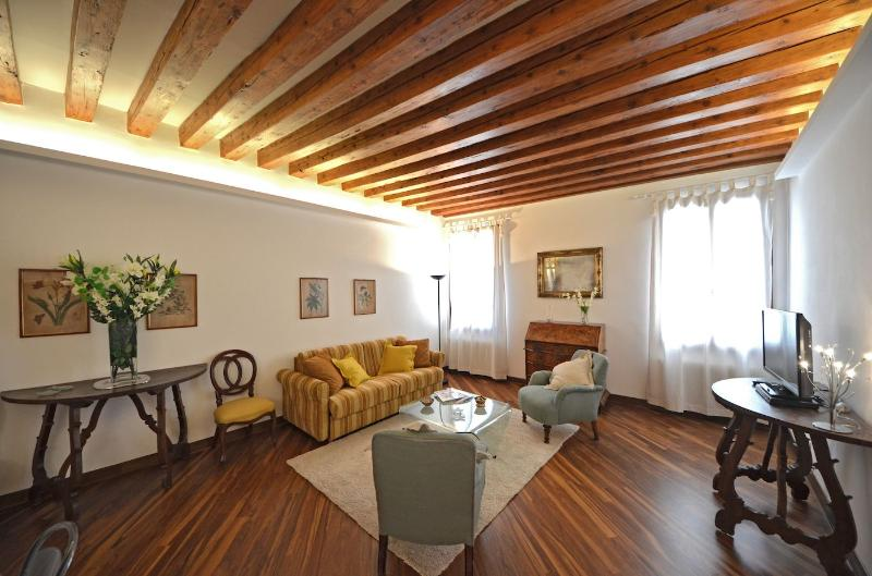living room of the Querini apartment in Venice - Querini - Venice - rentals