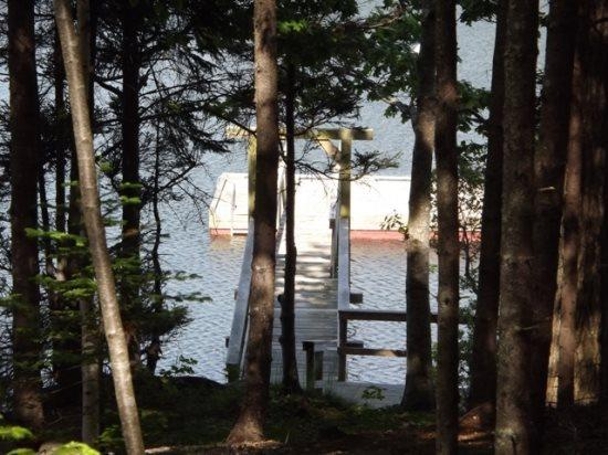 View of the private dock and Float - Ebb and Flow East Boothbay - Boothbay - rentals