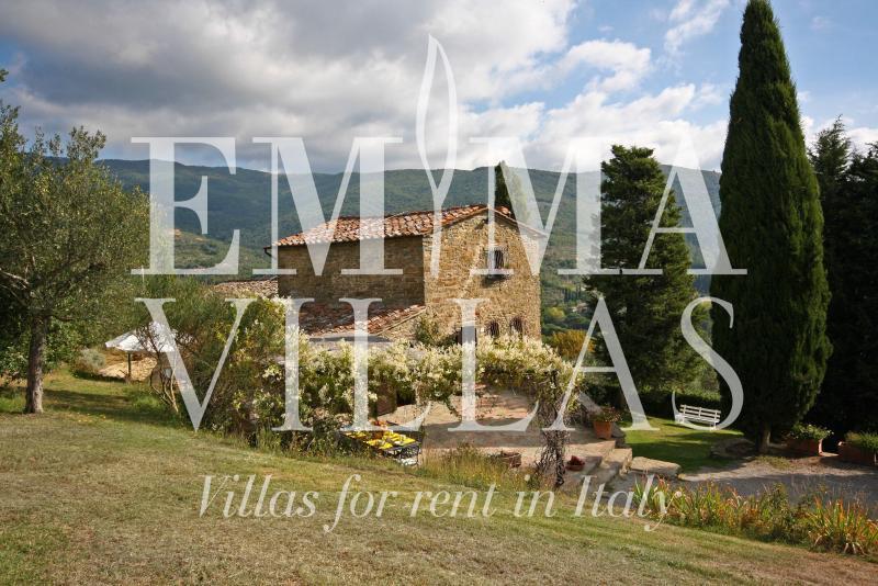Private 5 Bedroom Tuscan Villa on the Hills - Image 1 - Cortona - rentals