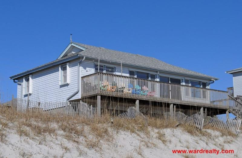 Oceanfront Exterior - Tahiti Too - Surf City - rentals
