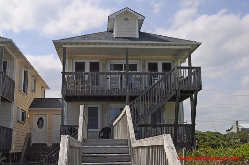 Oceanfront Exterior - Tax Breakers - Surf City - rentals