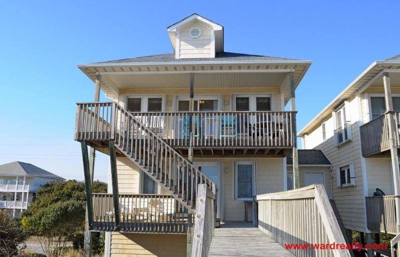 Oceanfront Exterior - Sarah's Sandcastle - Surf City - rentals