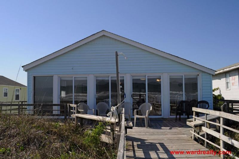 Oceanfront Exterior - You N Sea - Surf City - rentals