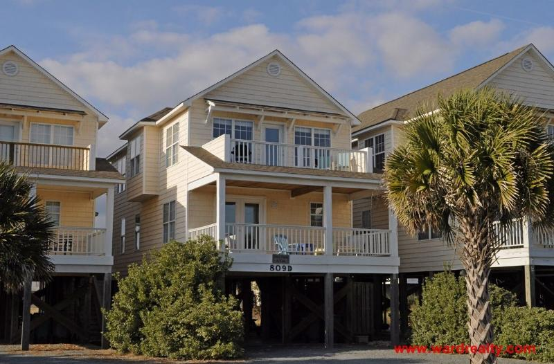 Once Upon a Tide Exterior - Once Upon A Tide - Surf City - rentals