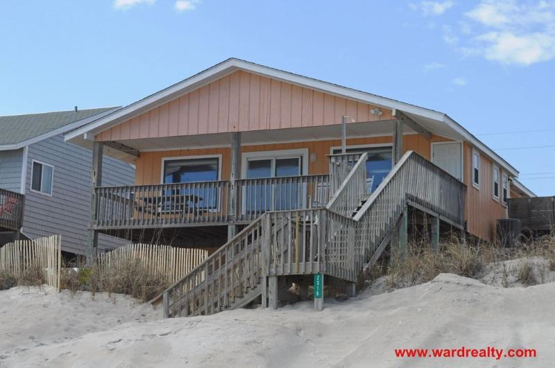 Oceanfront Exterior - Chez Nous - Surf City - rentals