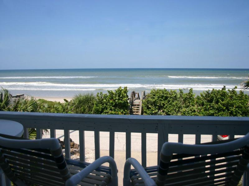 6368S - Oceanfront on Car Free Beach - Image 1 - New Smyrna Beach - rentals