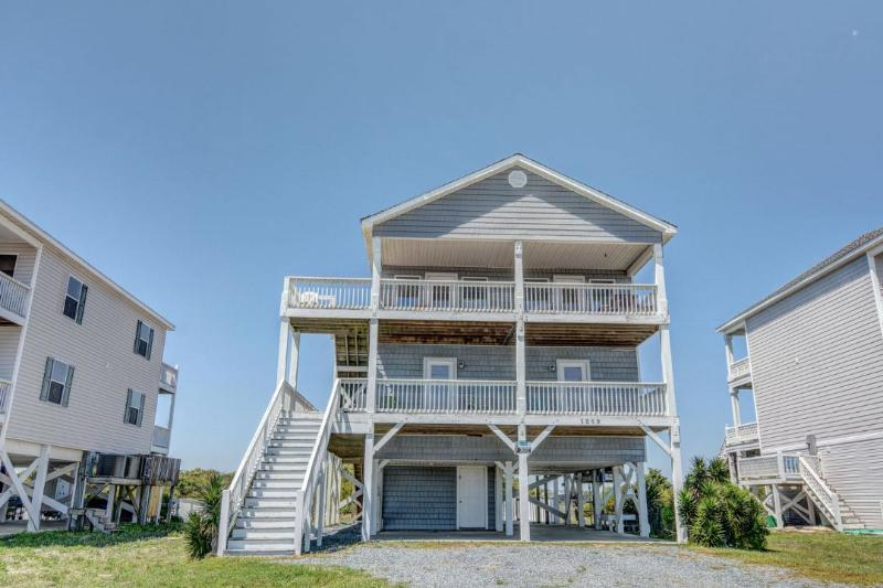 1259 New River Inlet Road - New River Inlet Rd 1259 Oceanview! | Private Pool, Hot Tub, Pet Friendly, Internet Discounts Available- See Description!! - North Topsail Beach - rentals