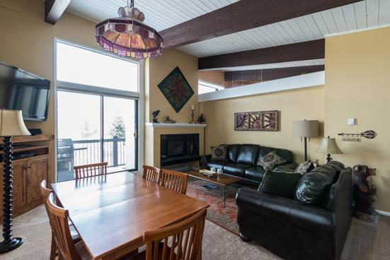 Storm Meadows Club C Living Room - 410 - 410 Storm Meadows Club C - Steamboat Springs - rentals
