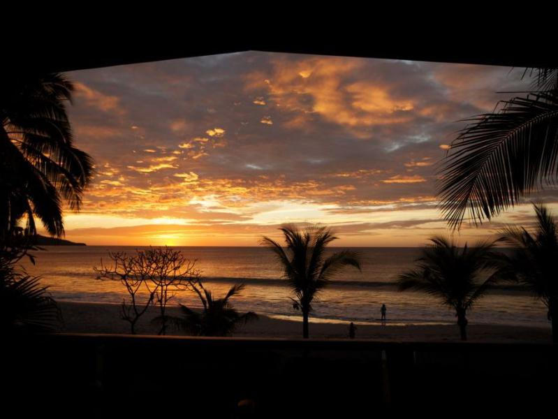 Sunsets at the Beachhouse are just spectacular! - Front Row Center!!! On Flamingo Beach: 5BR/Pool - Playa Flamingo - rentals