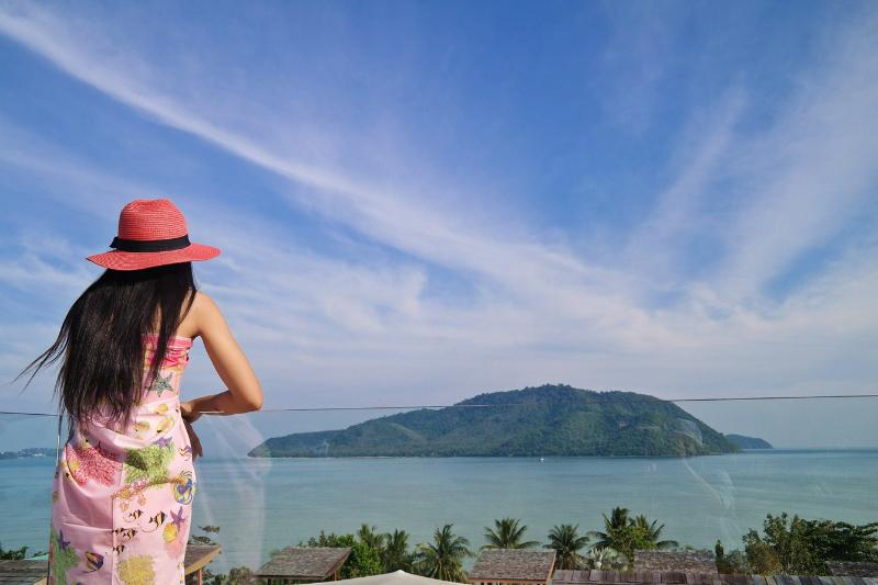 Overlooking the gorgeous view of Chalong Bay and nearby islands from private two roof top terraces - Luxury sea view 4 bedroom villa with private pool - Rawai - rentals