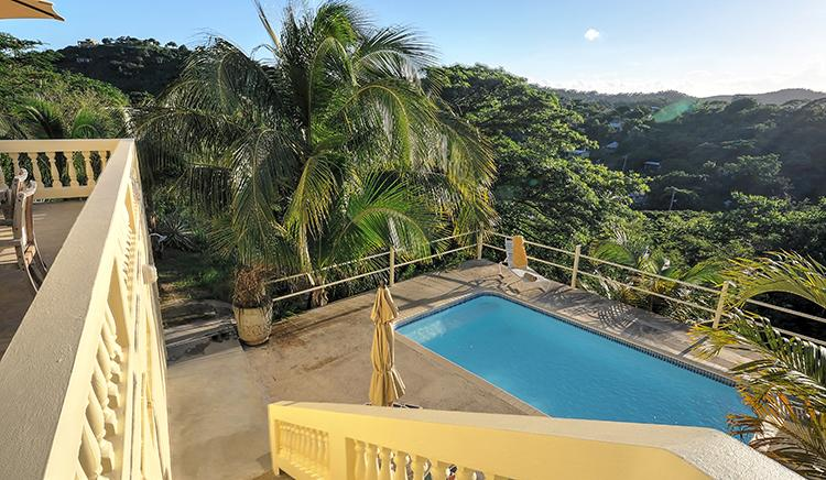 Cacimar House -  privacy with pool and views over north coast - Cacimar House  for 6 - Privacy, Pool, Great Views - Isla de Vieques - rentals