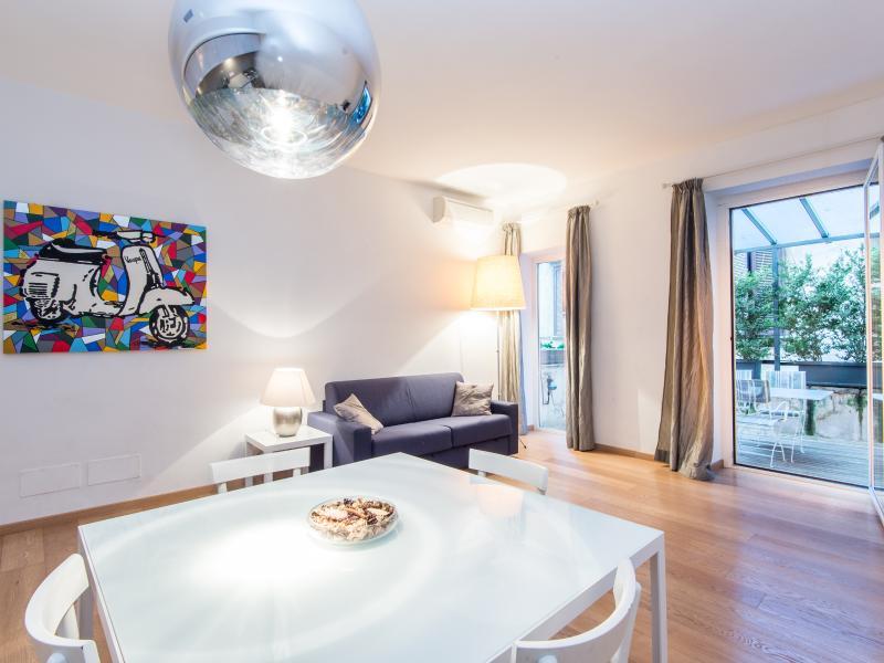 Large Apartment Spanish Steps Terrace - Image 1 - Rome - rentals