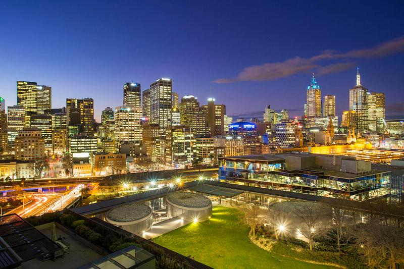 Your ACTUAL View from the apartment - FRESHWATER - Platinum ARMANI 2Br/1Bth with Balcony - Melbourne - rentals