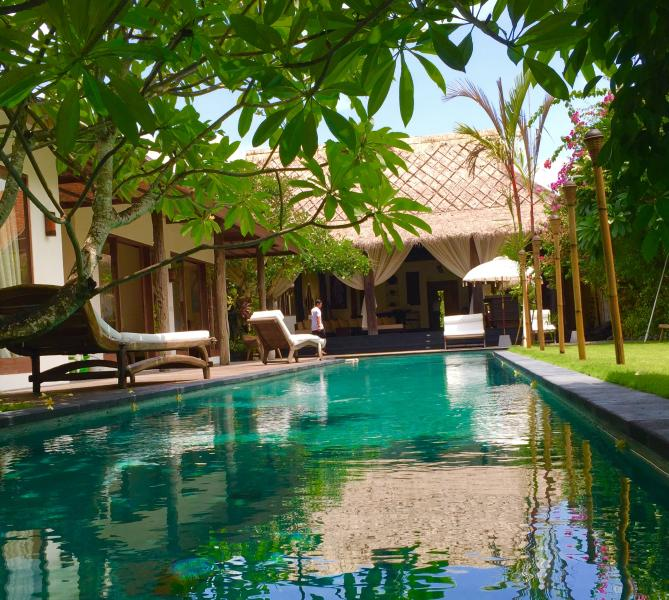 Ku 6 bedroom with 2 pools Villa, Central Seminyak - Image 1 - Seminyak - rentals