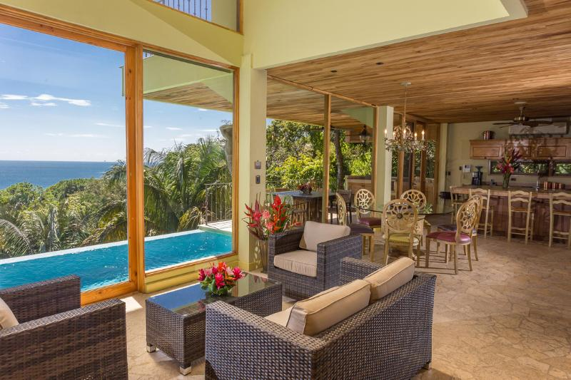 $1000 Off Special!! NEW!! Luxury Ocean View Home! - Image 1 - Manuel Antonio National Park - rentals