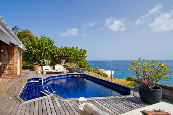 Attractive villa with open views over ocean & neighboring islands WV JPC - Image 1 - Gustavia - rentals