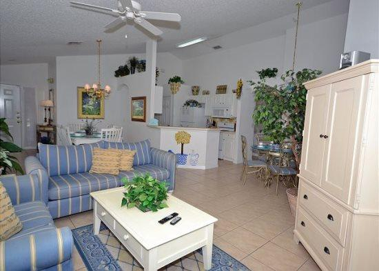 Delightful 4 Bedroom 3 Bath Pool Home in Southern Dunes Golf Resort. 3098BL - Image 1 - Orlando - rentals