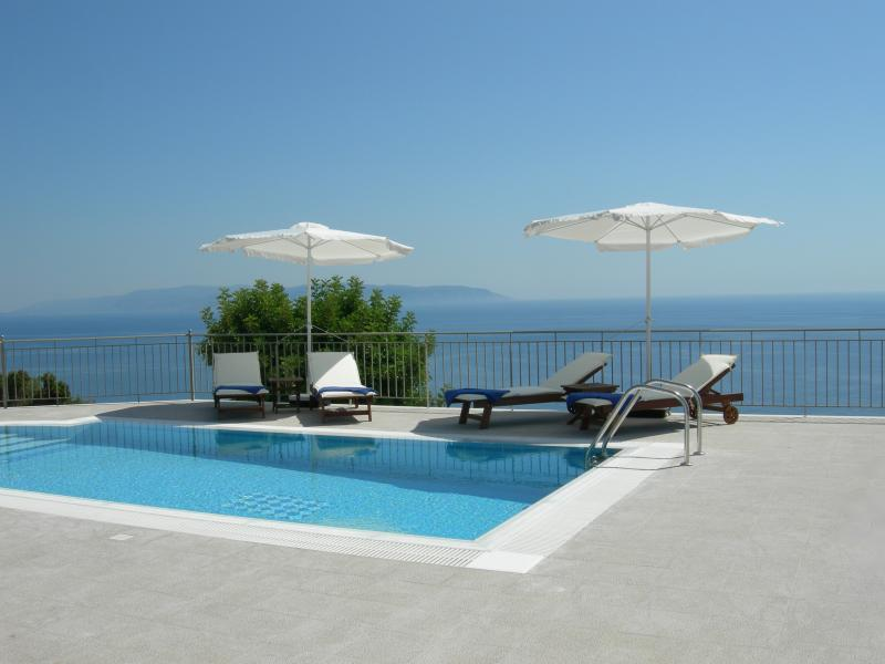 Villa Penelope private pool - Villa Penelope Boundless Sea & Mountain Views - Lourdas - rentals