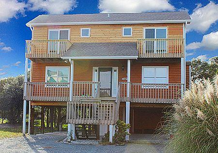 Front View - 'Sea 'n Joy - North Topsail Beach - rentals