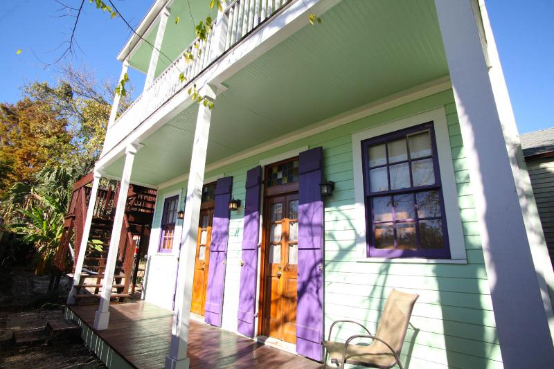 Front of unit - Adorable Cottage. 1 block to the French Quarter. - New Orleans - rentals