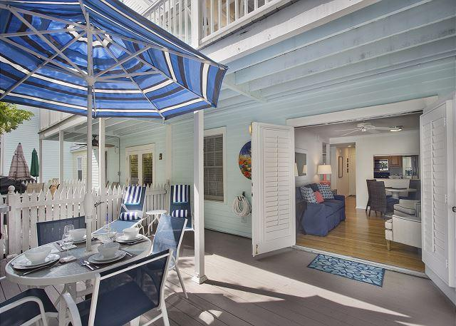 Seas the Day! Historic Old Town, Parking and Pool - Truman Annex Shipyard - Image 1 - Key West - rentals