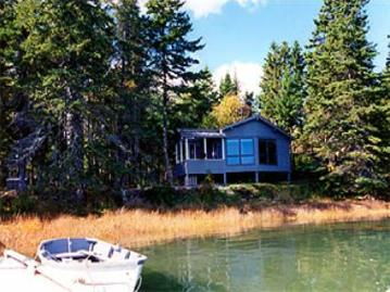 Front of Tides Cottage - Tides: a Two Bedroom Waterfront Cottage - Tremont - rentals