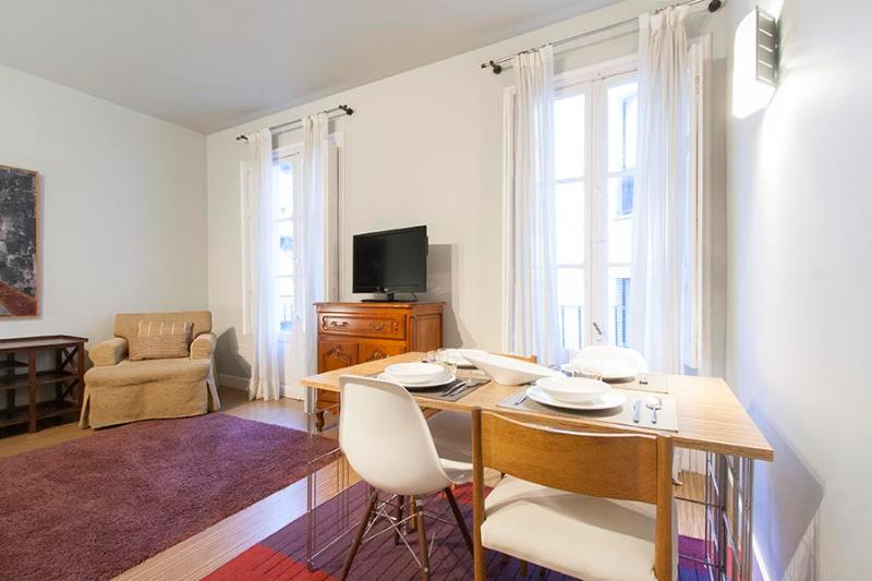 Living and dinning room - Bayona - San Sebastian - rentals