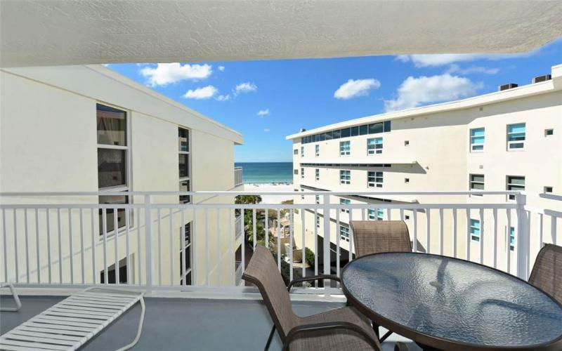 2BR with great Gulf beach balcony view #510GV - Image 1 - Sarasota - rentals