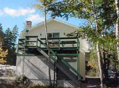 Front of the Treehouse property - Treehouse Number 3 at Bass Harbor - Tremont - rentals
