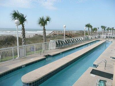 Grab a tube and float! - Luxury Oceanfront 3BR/3BA - Spotless and Beautiful - North Myrtle Beach - rentals
