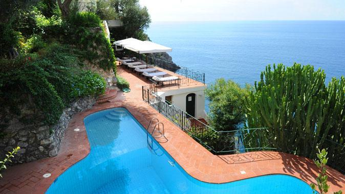 Villa Praia, swimming pool - villa praia - Praiano - rentals