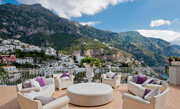panoramic terrace - diamante - Positano - rentals