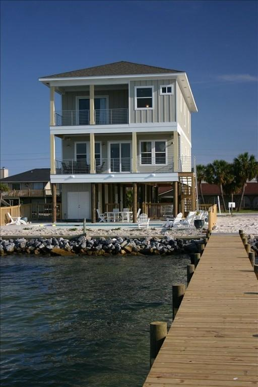 Soundfront Home with Pool - Image 1 - Pensacola Beach - rentals