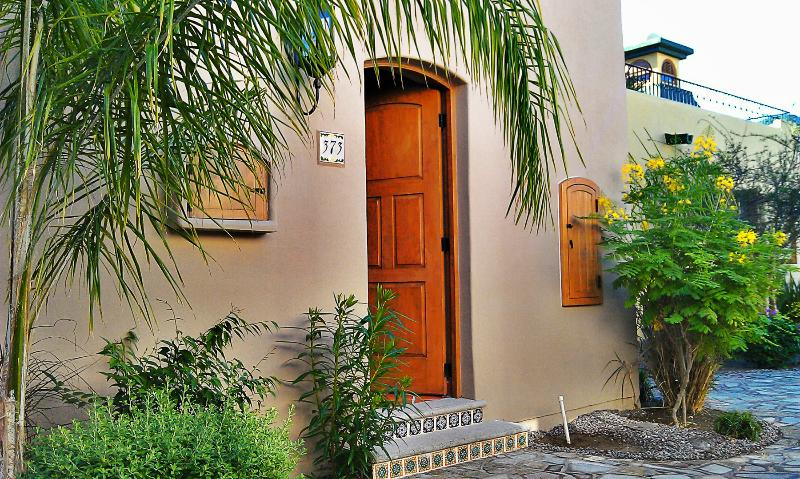 Front entry to Casa #373 Founders. - **Majestic Loreto Bay Casa Rental** - Loreto - rentals