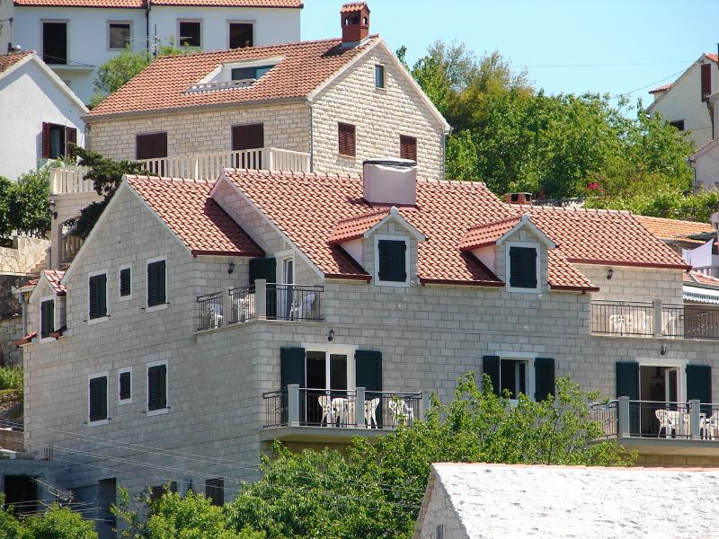 house - Marin A1(4+1) - Splitska - Splitska - rentals