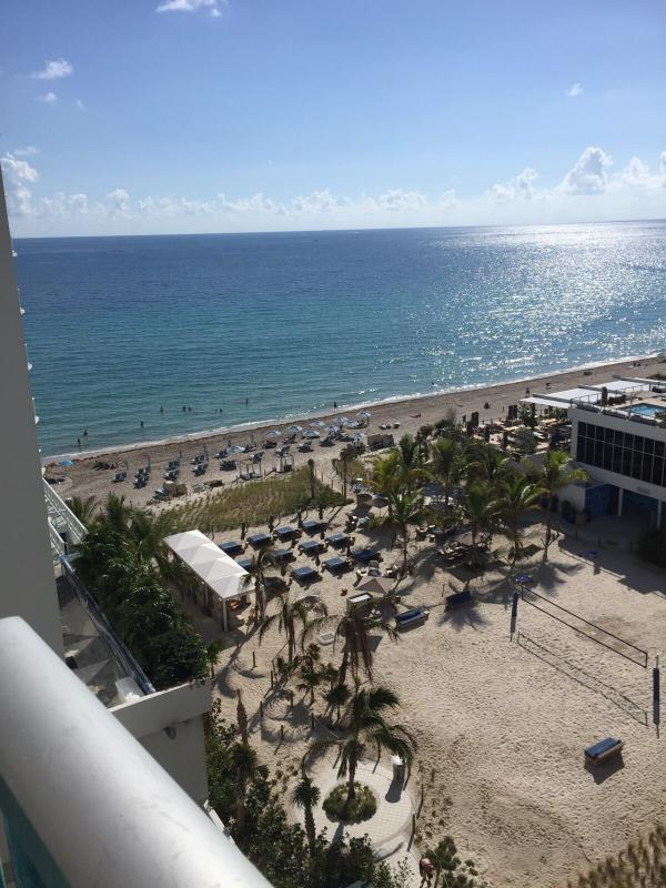 View from our balcony!!! - Lovely apartment by the beach!!! - Hollywood - rentals
