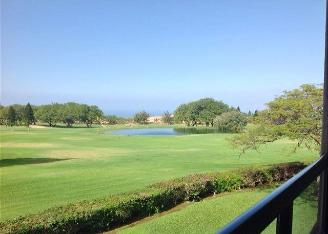 Lanai Views - A 210 Ground Level 2 Bedroom 2 Bath  with an ocean view!-WF A210 - Waikoloa - rentals
