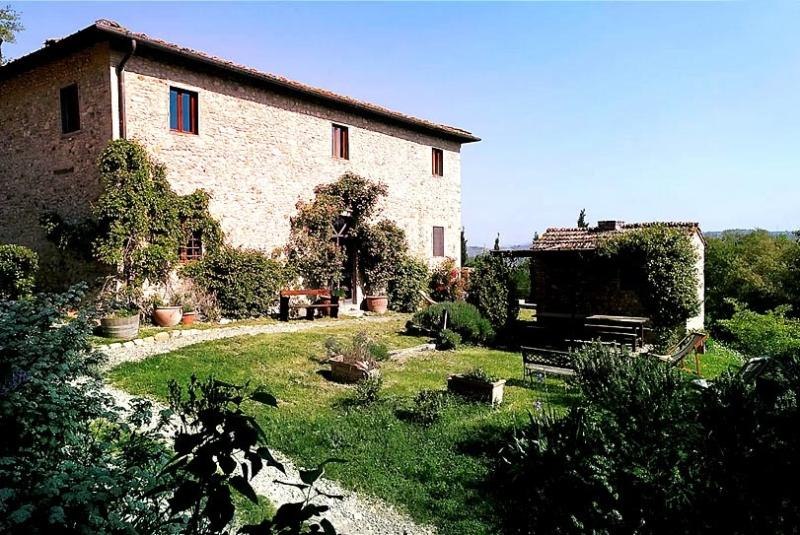 Restored Farmhouse w/Pool among Chianti vineyards - Image 1 - San Casciano in Val di Pesa - rentals