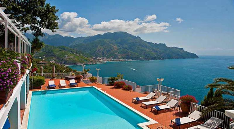 01 Villa Olimpo view from pool area - VILLA OLIMPO Castiglione/Ravello - Amalfi Coast - Ravello - rentals