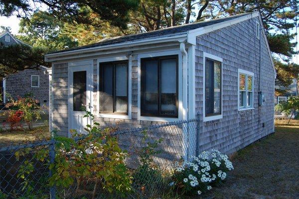 Front of Cottage - 58 Wilfin Rd-Quaint Cottage .2 to Beach-ID#365 - South Yarmouth - rentals
