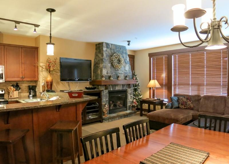 This large, open plan property is a pleasure to stay in!  - Big White Stonegate Resort Amazing 3 Bed Condo with Private Hot Tub - Big White - rentals