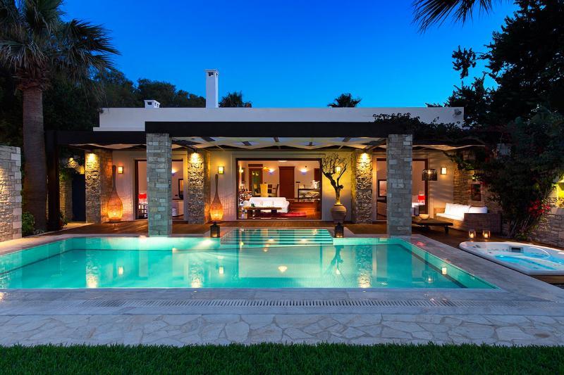 Imperial Spa Villa, Sleeps 12 - Image 1 - Tragaki - rentals