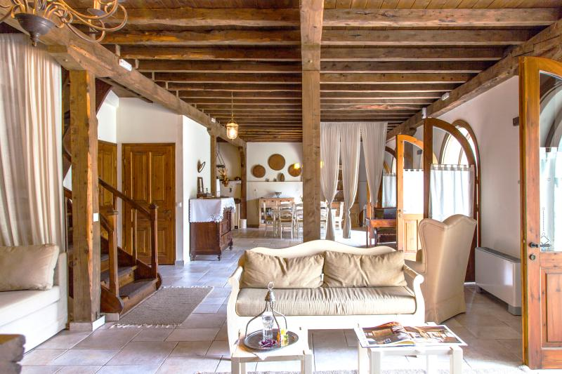 Very spacious interiors, decorated with antique items - Charming Historic Villa MELI close to BEST beaches - Lefkas - rentals