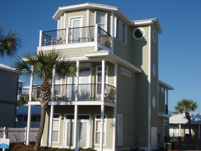 One house away from the surf and sand! - Upscale Crystal Beach 6br/cabana/pool, 1st house on beach access street - Destin - rentals