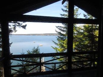 LINEKIN LOG CABIN | EAST BOOTHBAY | MAINE | DOCK AND FLOAT | SCREENED PORCH | KAYAKS INCLUDED | PET-FRIENDLY - Image 1 - Boothbay - rentals
